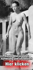 Romy Schneider nackt