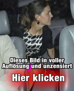 Kate Middleton unten ohne